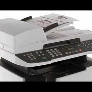 HP M2727nf Multifunction printer copy fax print scan duplex